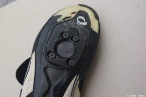 Schuhplatten fertig montiert