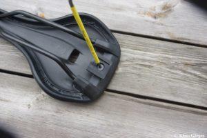 Adapter für Topeak Satteltasche montieren